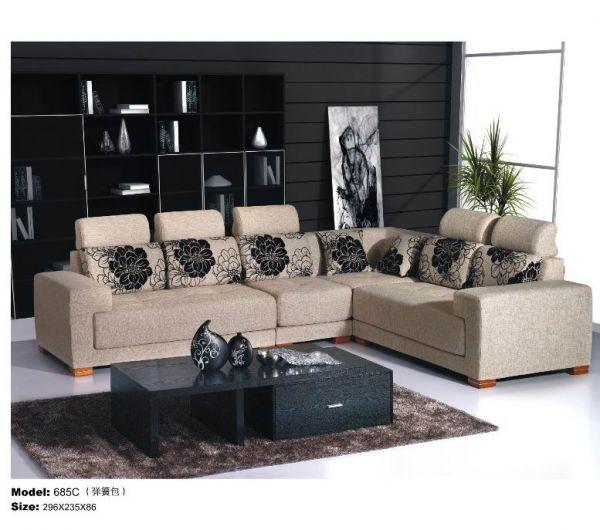 685C布艺沙发